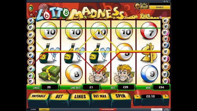 онлайн аппарат Lotto Madness 3