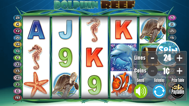 игровой автомат Dolphin Reef 3