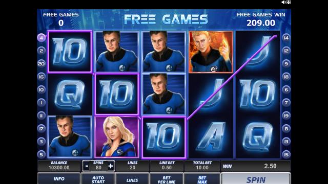 онлайн аппарат Fantastic Four 18