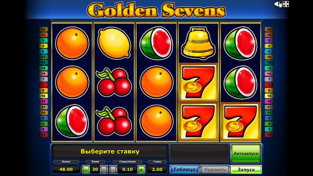популярный слот Golden Sevens 2