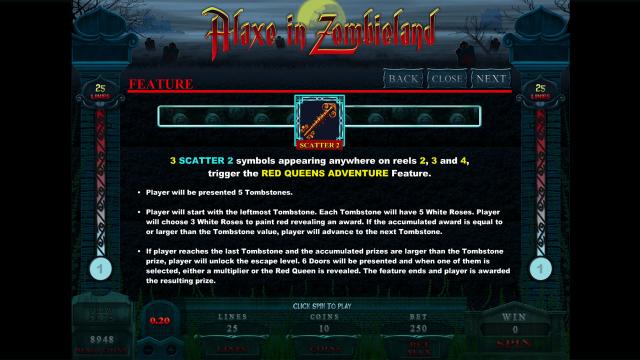 онлайн аппарат Alaxe In Zombieland 8