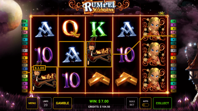 игровой автомат Rumpel Wildspins 6