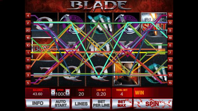 игровой автомат Blade 4