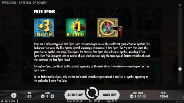 игровой автомат Warlords - Crystals Of Power 8