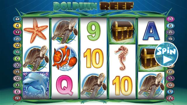 популярный слот Dolphin Reef 1