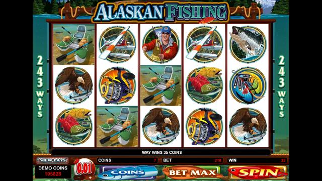 игровой автомат Alaskan Fishing 4