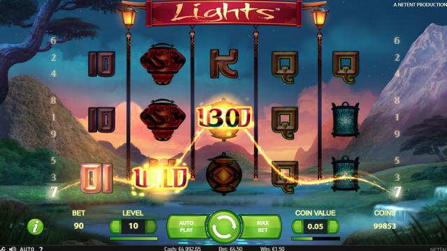 онлайн аппарат Lights 9