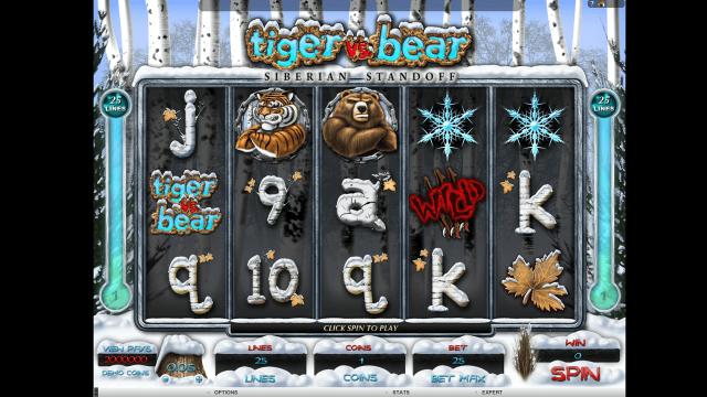 игровой автомат Tiger Vs Bear 1