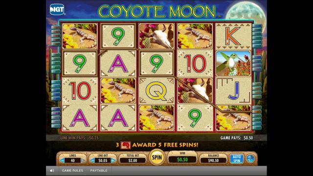 игровой автомат Coyote Moon 10