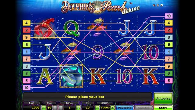 игровой автомат Dolphin's Pearl Deluxe 6