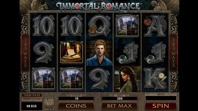 популярный слот Immortal Romance 4