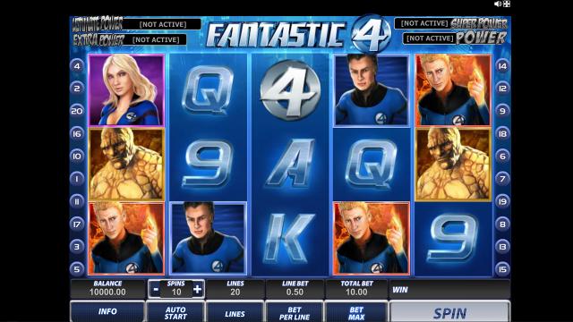 игровой автомат Fantastic Four 11