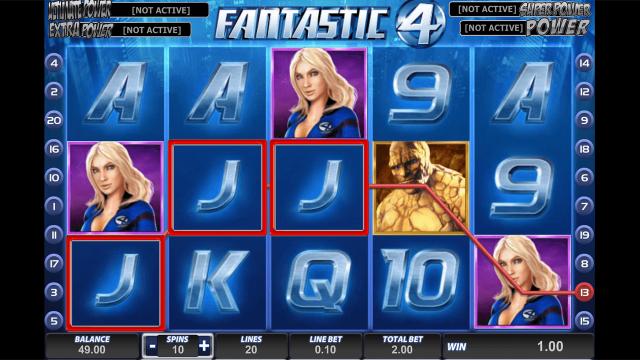 популярный слот Fantastic Four 10