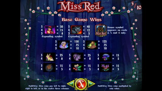 онлайн аппарат Miss Red 9