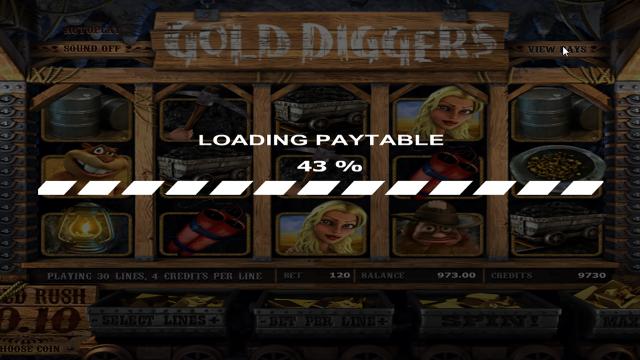 популярный слот Gold Diggers 2