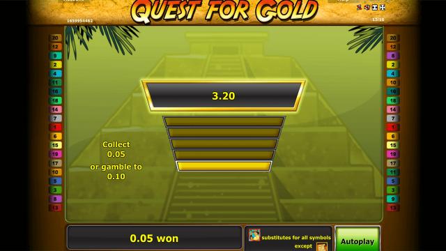 онлайн аппарат Quest For Gold 2