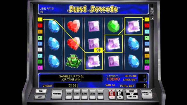 игровой автомат Just Jewels 7