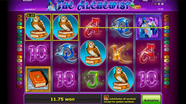 игровой автомат The Alchemist 4