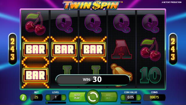популярный слот Twin Spin 6