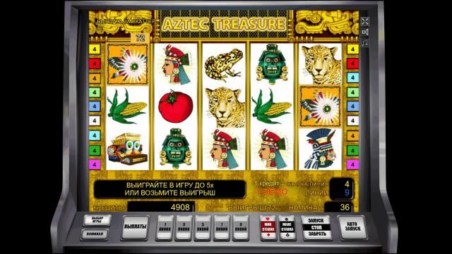 онлайн аппарат Aztec Treasure 6
