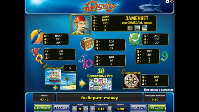 игровой автомат Sharky 3