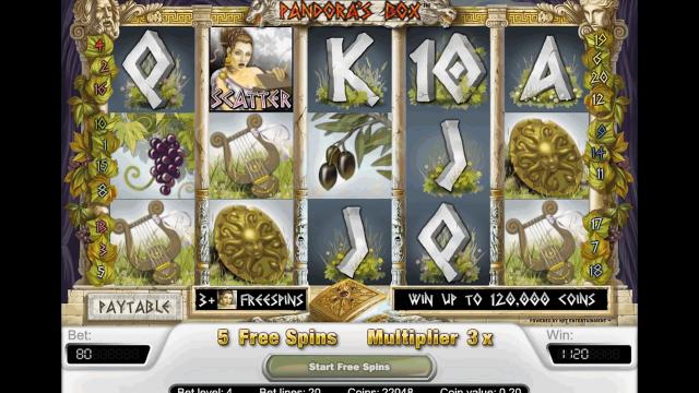 игровой автомат Pandora's Box 6