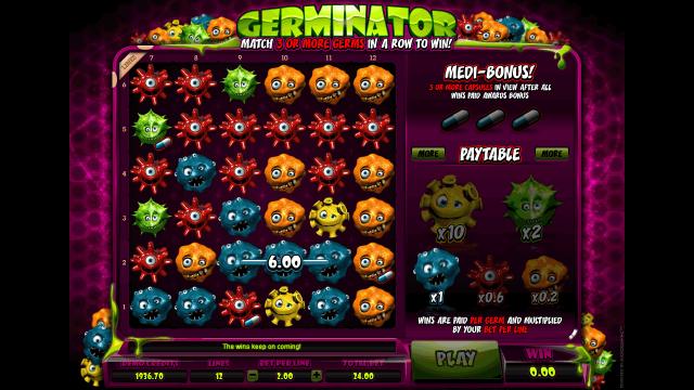 игровой автомат Germinator 9