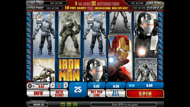 онлайн аппарат Iron Man 2 1