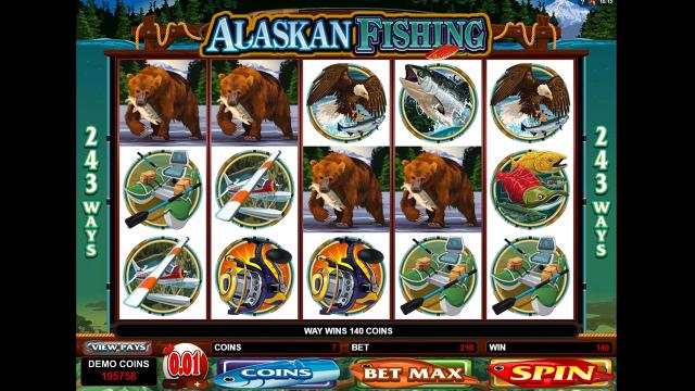 онлайн аппарат Alaskan Fishing 5