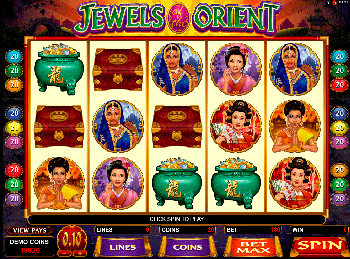 популярный слот Jewels Of The Orient 4
