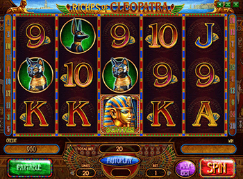 онлайн аппарат Riches Of Cleopatra 1