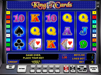 онлайн аппарат King Of Cards 4