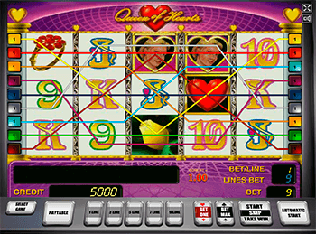 онлайн аппарат Queen Of Hearts 6