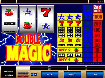 Характеристики слота Double Magic 3